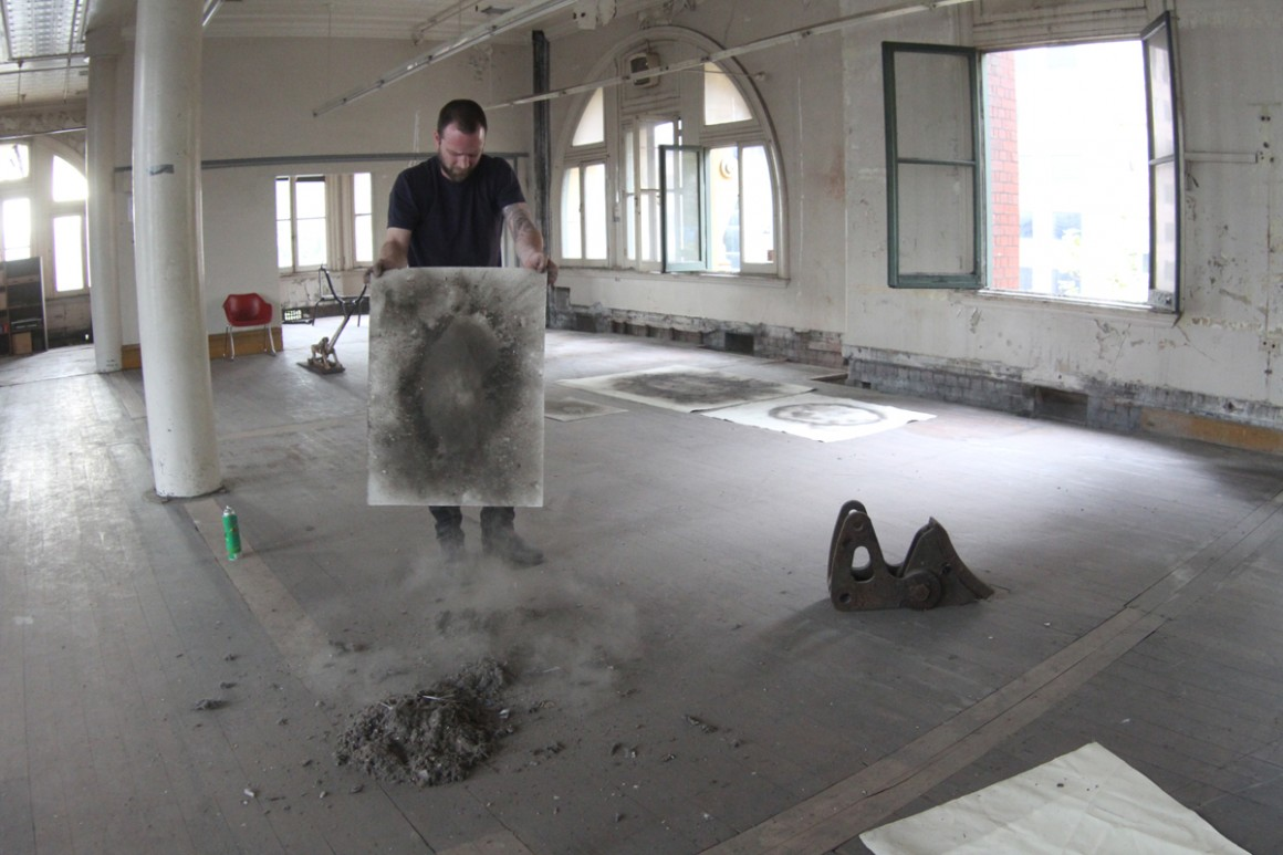 21. dust drawing process