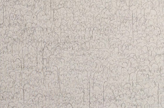 89964 seconds [paces] of drawing [walking] 2014_panel 2_detail